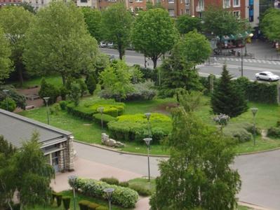 Jardin du lycée